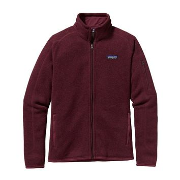 Patagonia Women's Better Sweater® Fleece Jacket | Oxblood Red