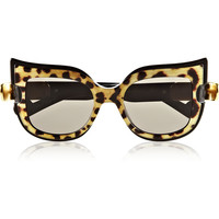Anna-Karin Karlsson - Leaving Cuckoo's Nest cat eye acetate sunglasses