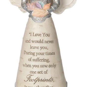 I love you and would never leave you Angel Figurine