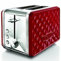 Bella Housewares | Diamonds Collection 2-Slice Toaster in Diamonds Collection and Collections and kitchen appliances, colorful appliances, toasters, juicers, blenders