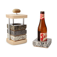 Beer Chilling Coaster Set | stone coasters