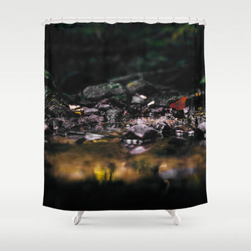 Micro cosmos Shower Curtain by HappyMelvin