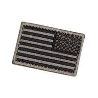 US Flag Patch Reverse Color- Foliage (6 Pack)