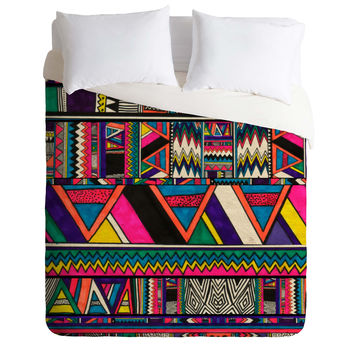 Kris Tate Aztec Colors Duvet Cover