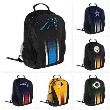 NFL Backpacks- Good for School, Work, or Travel- Pick Your Team
