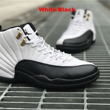Air Jordan Retro 12 XII Unisex basketball shoes Sneakers Athletics Boots