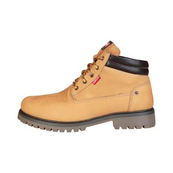 Levis Men Yellow Ankle boots