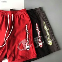 Champion 2018 summer new style brand men and women casual sports shorts F-AG-CLWM