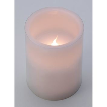 White Flameless Led Candle