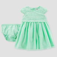 Baby Girls' Dress - Just One You™ Made by Carter's® Mint