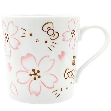 Buy Sanrio Hello Kitty Sakura Cherry Blossom Premium Ceramic Mug at ARTBOX