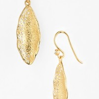 Women's Melinda Maria 'Mademoiselle' Pod Drop Earrings - Gold/ Clear