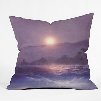 Viviana Gonzalez Melancholia Throw Pillow
