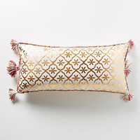 Gilded Lattice Pillow