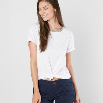 BKE Basic T-Shirt - Women's T-Shirts in Off White | Buckle