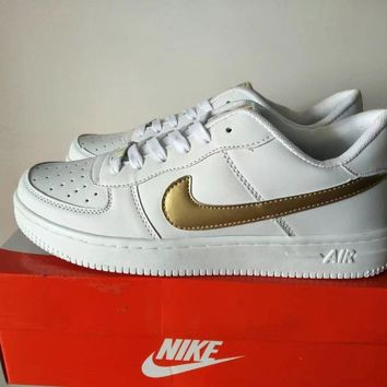 """Nike Air Force 1"" Unisex Sport Casual Classic Low Help Shoes Sneakers Couple Plate Sh"