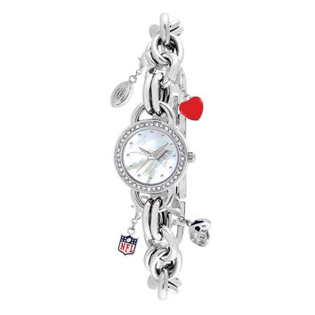 New England Patriots NFL Women's Charm Series Watch