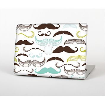 The Fashion Mustache Variety On White Skin for the Apple MacBook Air 13""