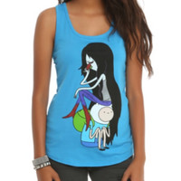 Adventure Time Marceline & Finn Girls Tank Top