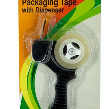 Packaging Tape with Refillable Dispenser ( Case of 12 )