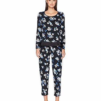 Kate Spade New York Floral Long Pajama Set
