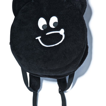 Lazy Oaf Bear Circle Rucksack Black One