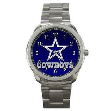 Cowboys Neoprene Metal Watch