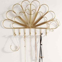 Deco Scallop Hanging Jewelry Storage