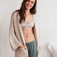 Aerie Pocket Cardigan, Heather Frost