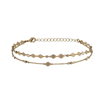 Dare to Be Choker in Gold