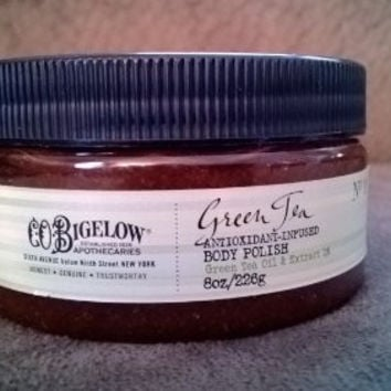 C.O.Bigelow No 1911 Green Tea Antioxidant-Infused Body Polish, 8 oz/226g