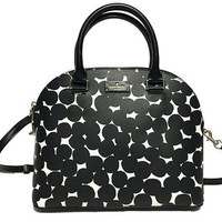 DCK4S2 Kate Spade Grove Street Carli Leather Crossbody Bag Purse Satchel Shoulder Bag
