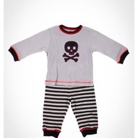 Infant Skull Thermal Pant 2-Piece Set