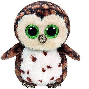 "NEW 2016 SAMMY The Owl 6"" Plush Beanie Boos Toy Doll TY"