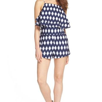 Women's Finders Keepers the Label 'Move on Up' Layer Romper,