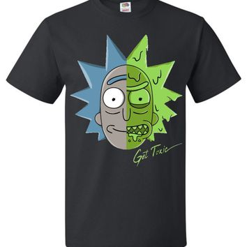 Get Toxic Rick and Morty Youth T-Shirt