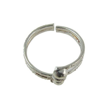 Toe Ring Foot Accessories Silver Alloy Jewelry Handcrafted in India
