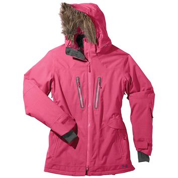 Under Armour UA Coldgear Infrared Cleopatra Jacket - Women's XL - Lollipop / Velvet