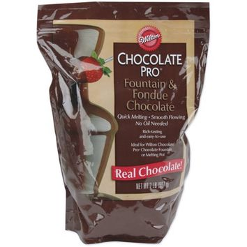 Wilton Chocolate Pro Fountain & Fondue Chocolate - Wafers 2 Pounds