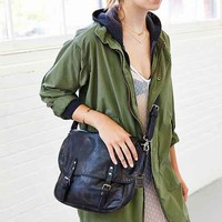 Frye Veronica Leather Messenger Bag-