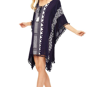 Kaftan Pom Dress