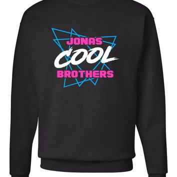 "Jonas Brothers ""Cool"" Triangles Crew Neck Sweatshirt"