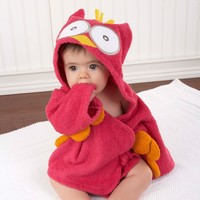 Adorable My Little Night Owl Hooded Terry Spa Robe  - Whimsical & Unique Gift Ideas for the Coolest Gift Givers