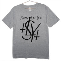 YSL Satan Loves You Parody T-Shirt (ATTN: notate SIZE during checkout)