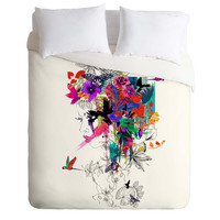 Holly Sharpe Tropical Girl 1 Duvet Cover