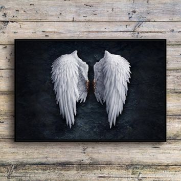 The wings of the angel Canvas Print Wall Art Fashion Home Decor Living Room bedroom Oil Paintings