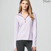LLD Long Sleeve Live Love Run Half-Zip Top - Aeropostale