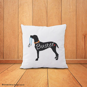 Custom dog pillow-dog pillow-home decor-dog pillow cover-custom pillow-custom pet pillow-gift for dog lover-pet pillow-NATURA PICTA-NPCP049