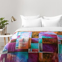 Madart Inc. A Checkered Life II Comforter | DENY Designs Home Accessories