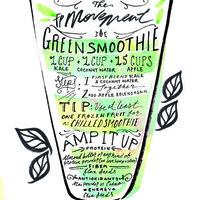 20 Days Of Movement, Day 19: Green Smoothie - Free People Blog